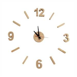Nástenné hodiny z jelšového dreva Nørdifra