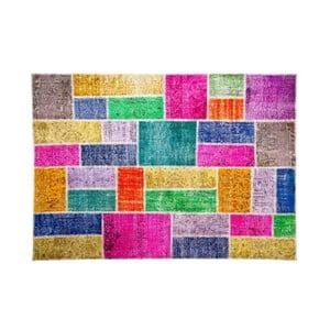 Vlnený koberec Allmode Bulmaca, 150x80 cm
