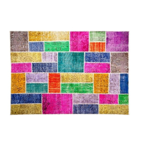 Vlnený koberec Allmode Bulmaca, 180x120 cm