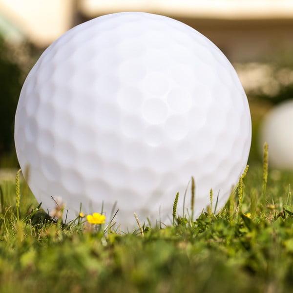 Zahradné náladové svetlo Golfball, 50 cm