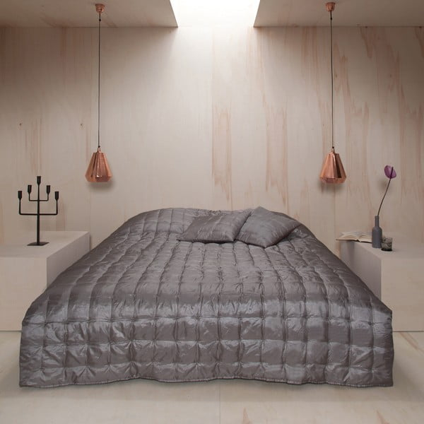 Prikrývka na posteľ Versailles Cement, 220x270 cm
