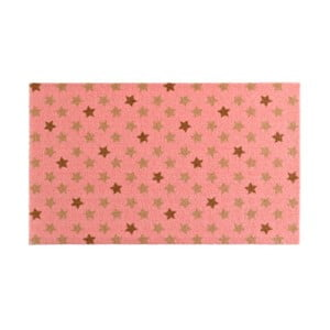 Ružová rohožka Zala Living Design Star Pink, 50×70cm