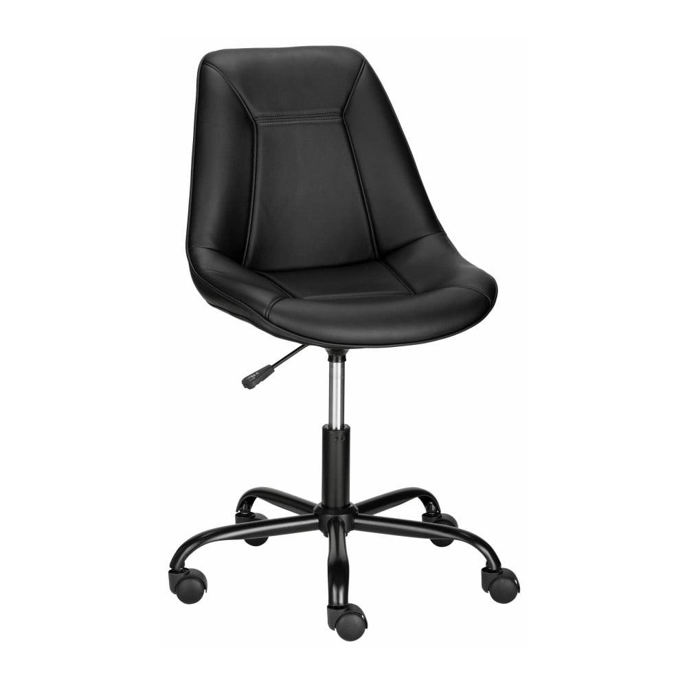 a3bb20e34 Čierna kancelárska stolička Støraa Carl
