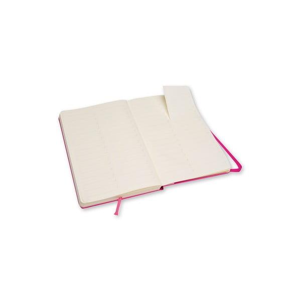 Ružový zápisník Moleskine Folio