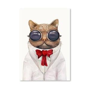 Plagát Astro Cat, 30x42 cm
