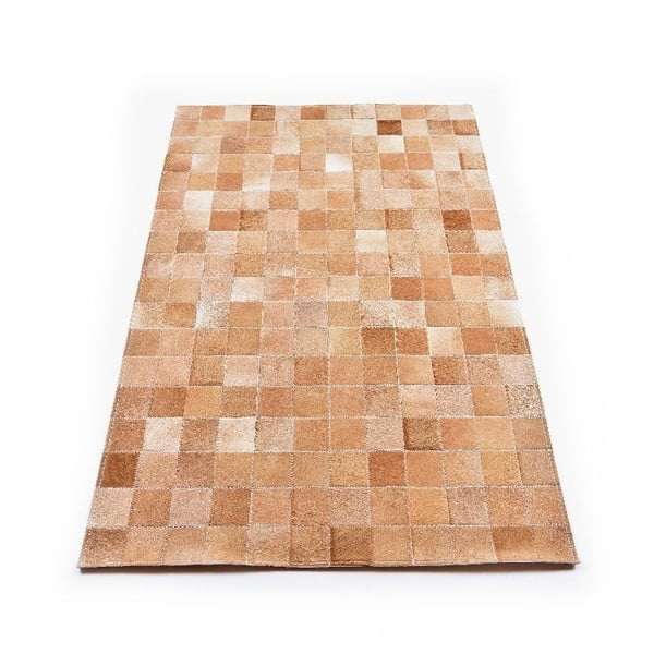 Koberec z kože Sand, 180x120 cm
