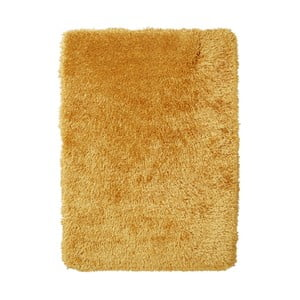 Žltý ručne tuftovaný koberec Think Rugs Montana Puro Yellow, 150×230 cm