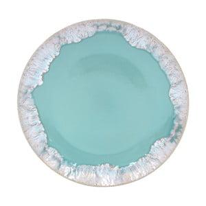 Tyrkysový tanier z kameniny Casafina Taormina, ⌀ 27 cm