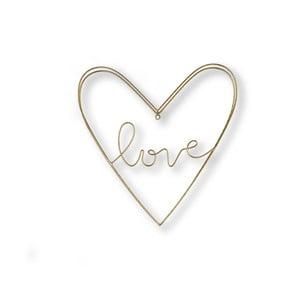 Kovová nástenná dekorácia Graham & Brown Amour