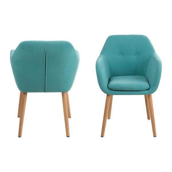 Modrá jedálenská stolička Actona Emilia