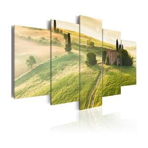 Obraz na plátne Artgeist Green Tuscany, 200×100 cm