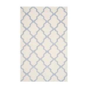 Vlnený koberec Ava Light Blue, 121x182 cm