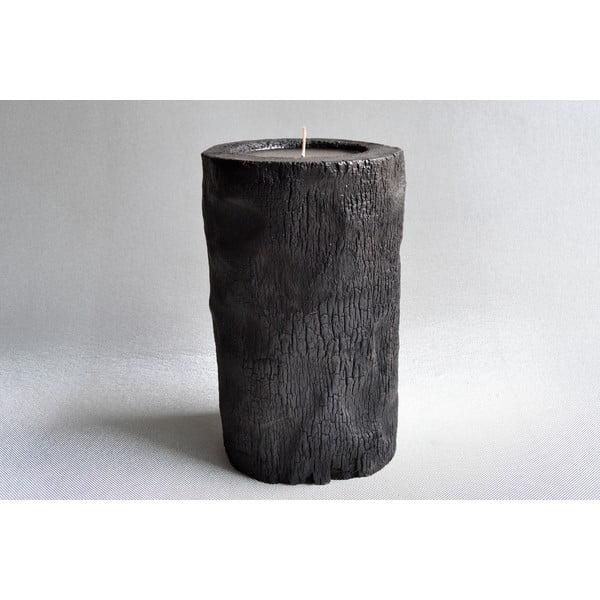 Palmová sviečka Legno Bordeux s vôňou exotického ovocia, 60 hodín horenia