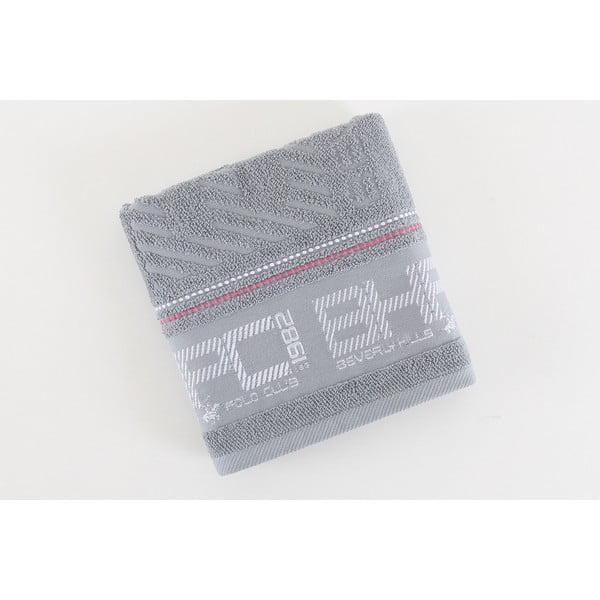 Bavlnený uterák BHPC sivý, 50x100 cm