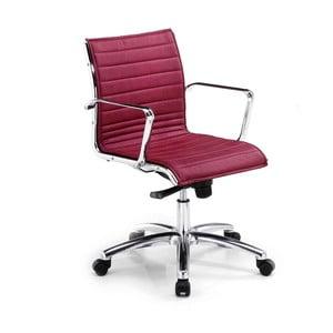 Vínová kancelárska stolička s kolieskami Zago Chrono