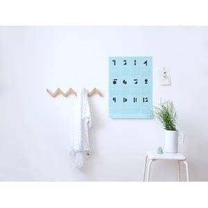 Nástenný kalendár SNUG.Toy 2016, modrý