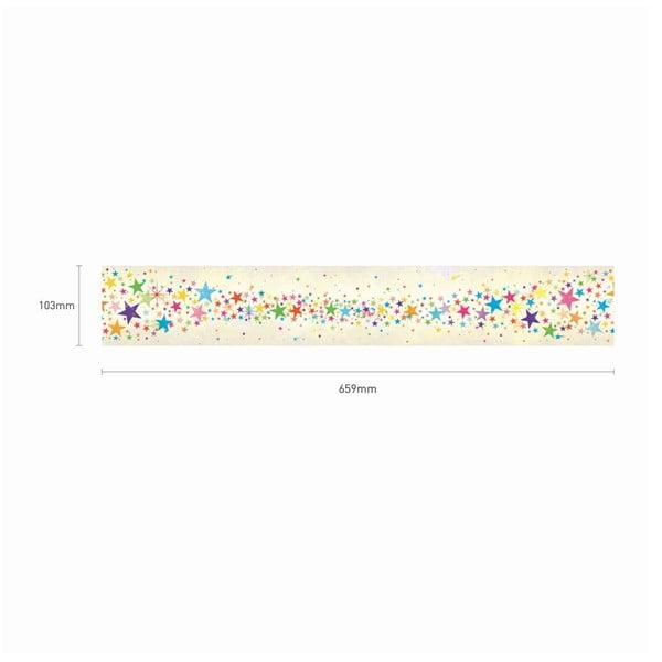 Samolepka Multicolor Stras Frieze