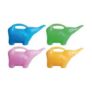 Sada 4 plastových konvičiek v tvare slona Ego Dekor