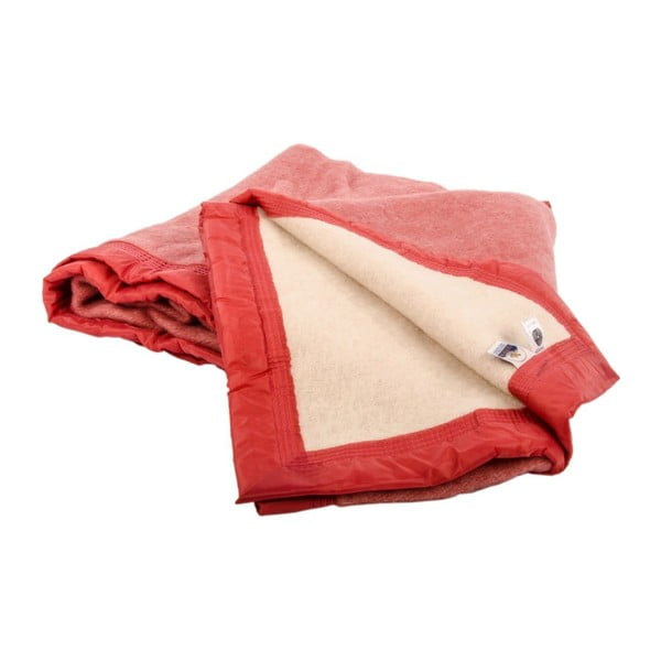 Vlnená deka Sarazzi  Rose, 180x220 cm