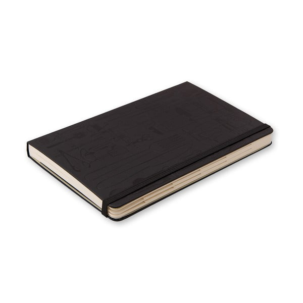 Notes na recepty Moleskine, čierny