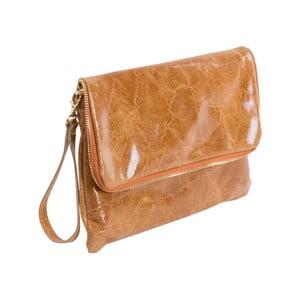 Hnedá kabelka z pravej kože Andrea Cardone Cobalto