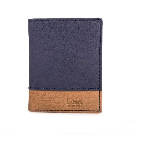 Kožená peňaženka Lois Blue, 8,5x10,5 cm