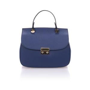 Modrá kožená kabelka Giorgio Costa Niobe