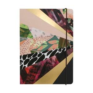 Zápisník A5 Portico Designs Kaleidoscope, 160 stránok