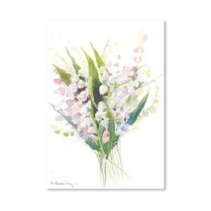 Plagát Pink Lilies od Suren Nersisyan