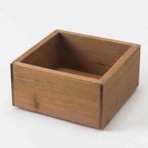 Drevený box Compactor Vintage Box, 14x14 cm