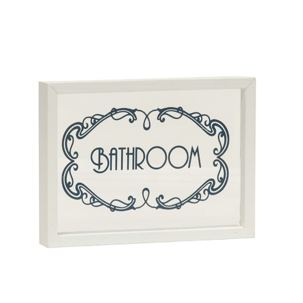 Ceduľa Bathroom