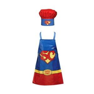 Detský set zástery a čiapky Superchef