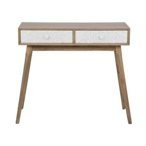 Konzolový stolík s 2 zásuvkami Mauro Ferretti Tribe
