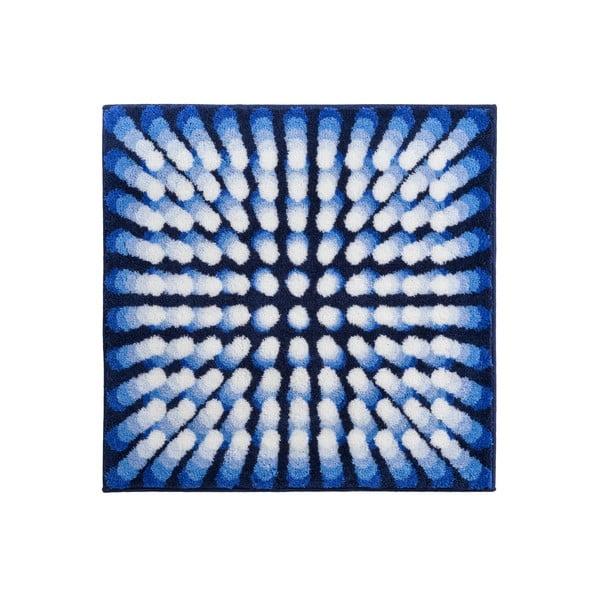 Kúpeľňová predložka Kolor My World VII 90x90 cm, modrá