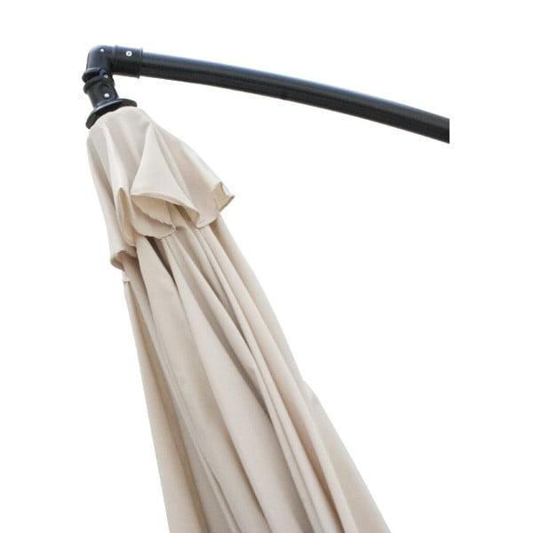 Slnečník Vetro 300 cm, béžový