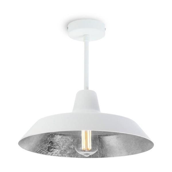 Stropné svietidlo v bielej a striebornej farbe Bulb Attack Cinco Basic