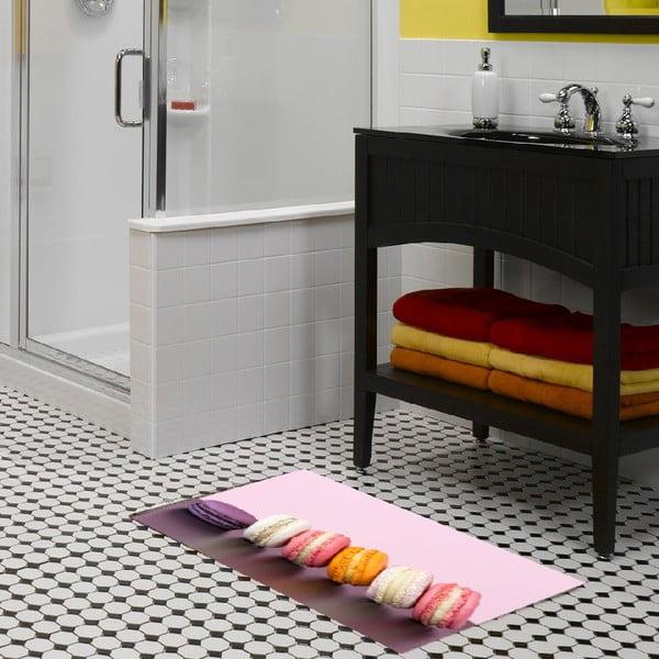 Vinylový koberec Macaron, 52x75cm