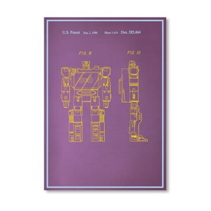Plagát Movie Character, 30x42 cm