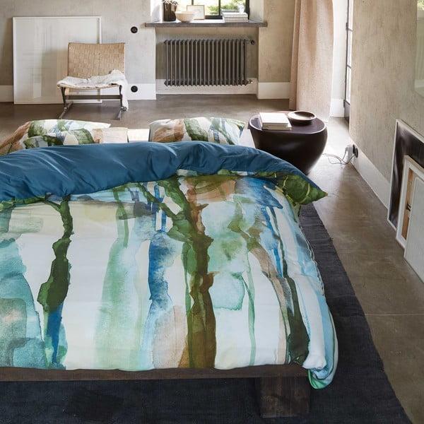 Obliečky Essenza Yono, 135x200 cm, zeleno-modré