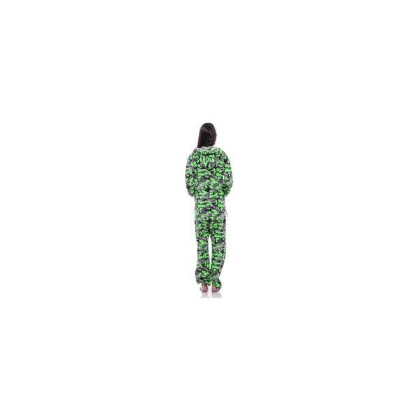 Unisex domáci overal Streetfly Thin Green Army, veľ. M