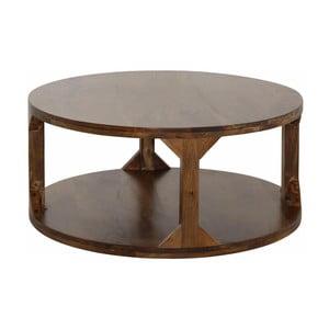 Konferenčný stolík z mangového dreva Støraa Misha, priemer 60cm