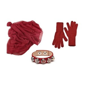 Sada rukavíc, šálu a náramku Lavaii Lota