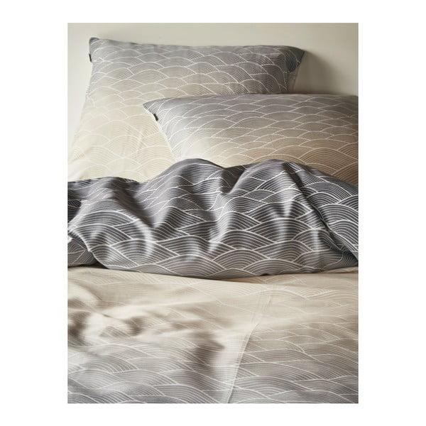 Obliečky Esprit Evan sivé, 135x200 cm