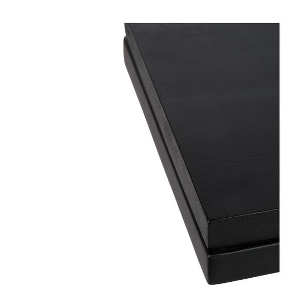 Odkladací stolík Side Black