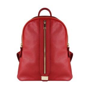 Červený kožený batoh Maison Bag Lisa