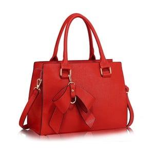 Červená kabelka L & S Bags Ludmila