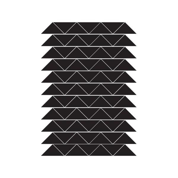 Vinylové samolepky na stenu Triangles