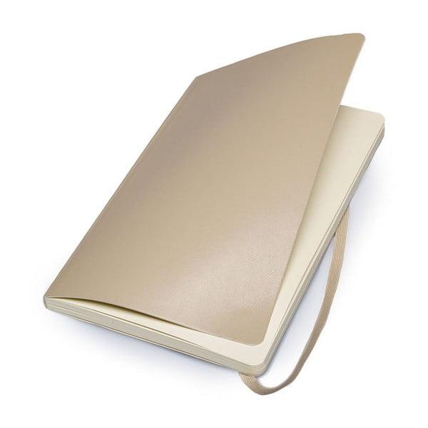 Zápisník Moleskine Under Beige, 13x21 cm