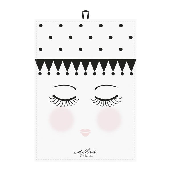 Sada 2 utierok Miss Étoile Eyes and Dots