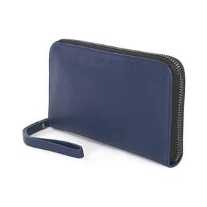 Modrá listová kabelka z talianskej kože Tucano Sicuro